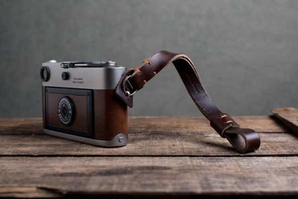Hawkesmill-Oxford-Leather-Camera-Wrist-Strap-Brown-Stitched-Leica-M6-3