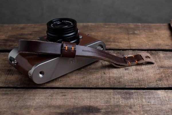 Hawkesmill-Oxford-Leather-Camera-Wrist-Strap-Brown-Stitched-Leica-M6-4