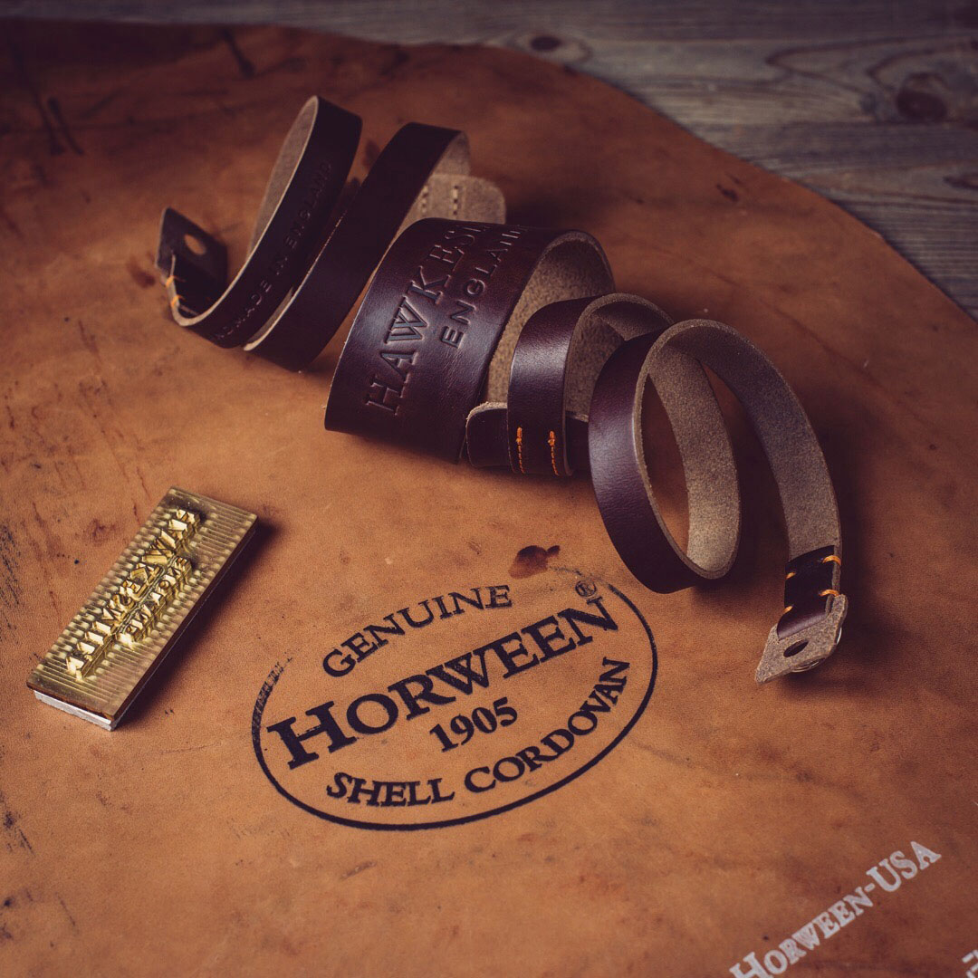 Horween Leather Camera Strap Handmade in England