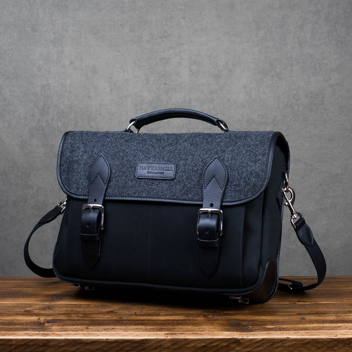 Hawkesmill-Revised-Camera-Messenger-Bag-Sloane-Street-Front
