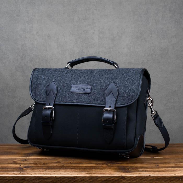 Hawkesmill-Revised-Camera-Messenger-Bag-Sloane-Street-Front