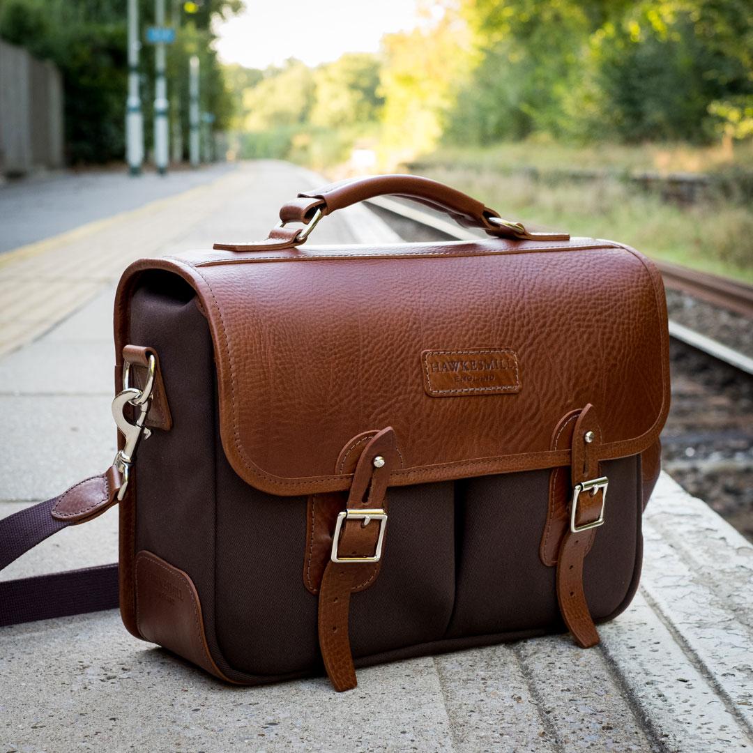 St James S Street Camera Bag Handmade In England Hawkesmill