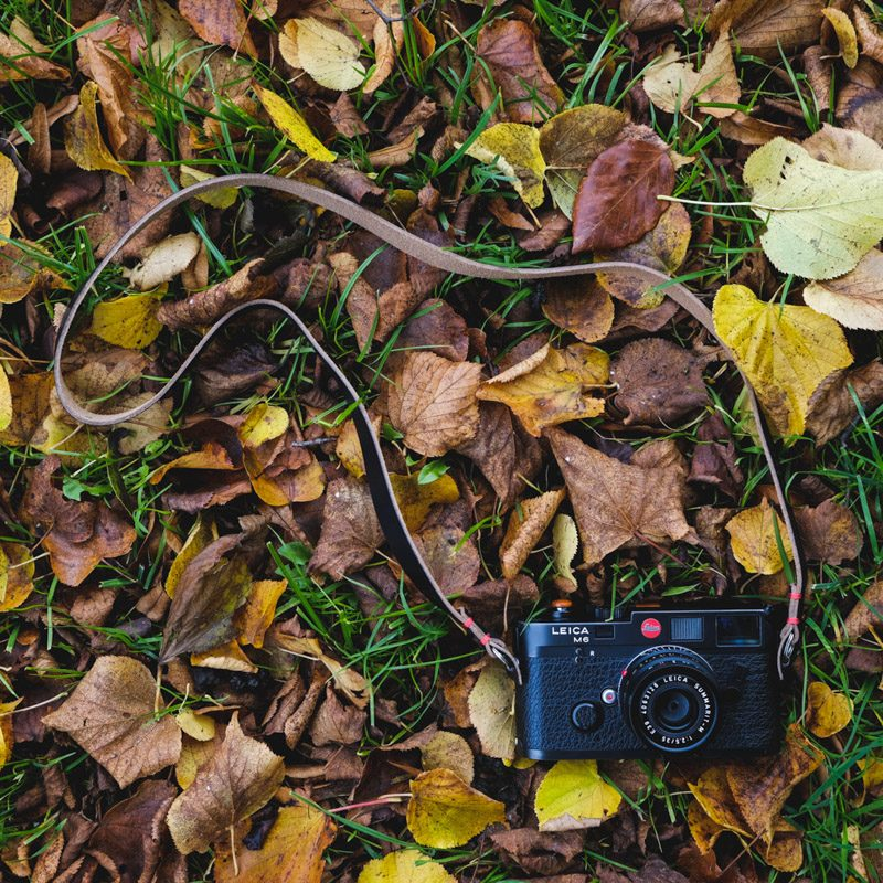 Leica M6 Classic with Kensington Camera Neck Strap