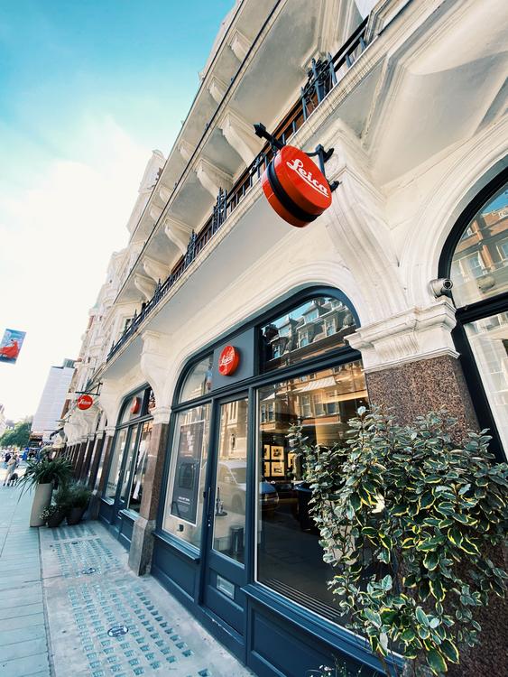 Leica Store Mayfair London, Hawkesmill Straps