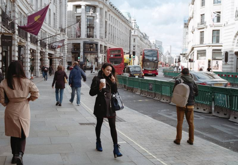 Kodak-ColorPlus-200-Regent-Street, London